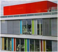 Fassaden -Farbe pur-