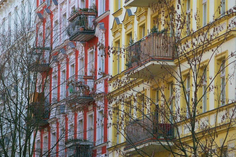 Fassaden in Prenzlberg