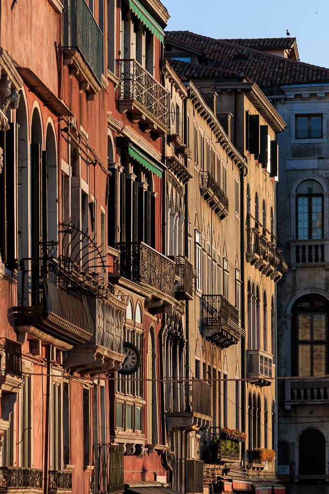 Fassaden in Venedig
