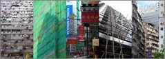 Fassaden mit und ohne Bambus