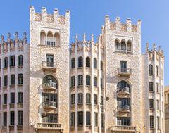 Fassaden V - Barcelona