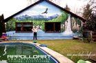 Fassadengestaltung Landschaft - Natur - Alpen