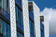 Fassadengrafik | Dreicke