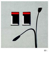 FASSADENGRAFIK | Schattenlampe