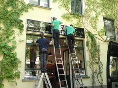 Fassadenkletterer