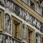 Fassadenkunst in Prag