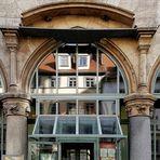 Fassadenspiegelung in Erfurt