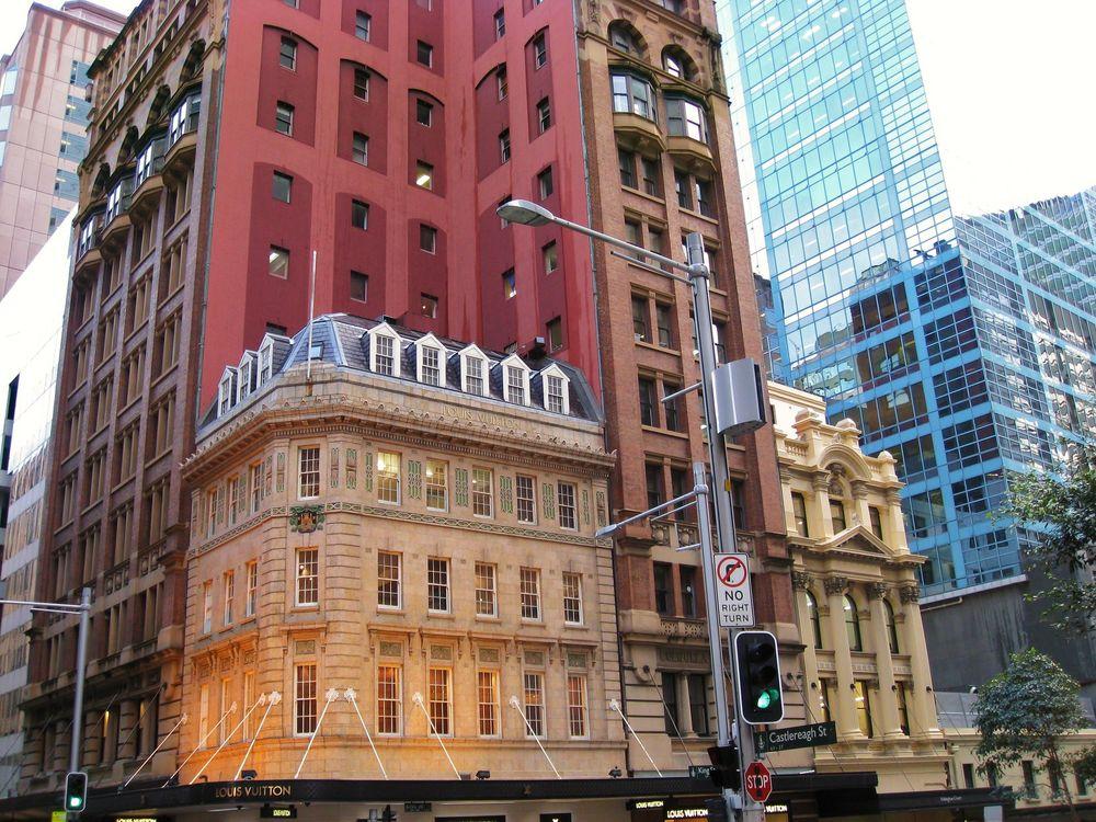 Fassadenvielfalt in Sydney