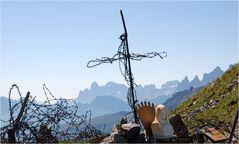 Fassaner Alpen gegen Pala-Gruppe