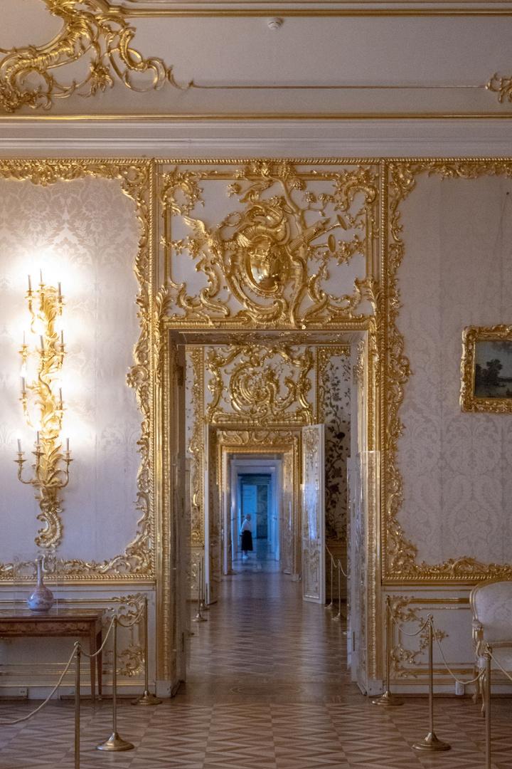 (Fast) allein m Katharinenpalast
