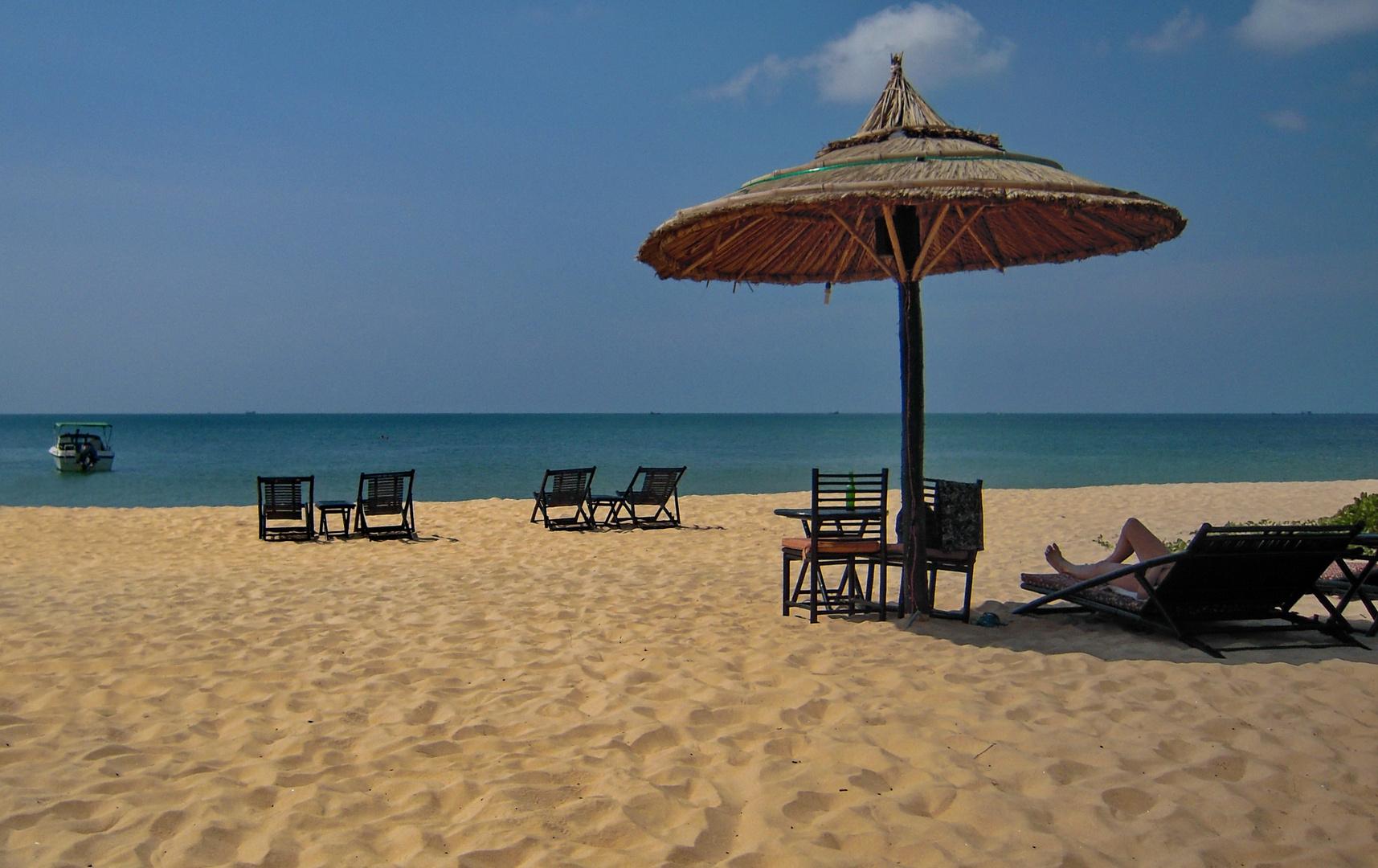 Fast einsam auf Phú Quôc Island