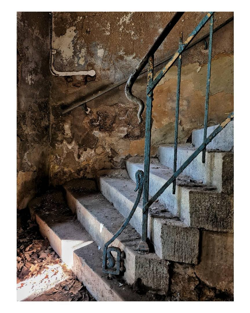 Faszination alte Treppen...