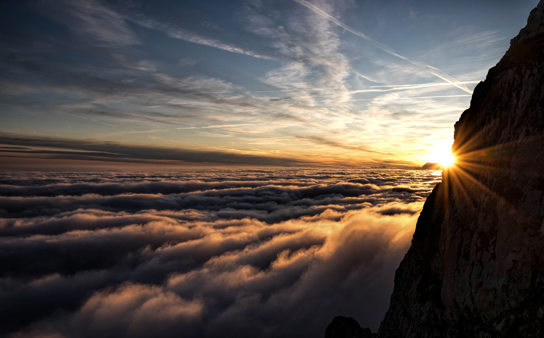 Faszination Berge - Sonnenaufgang auf dem Pilatus