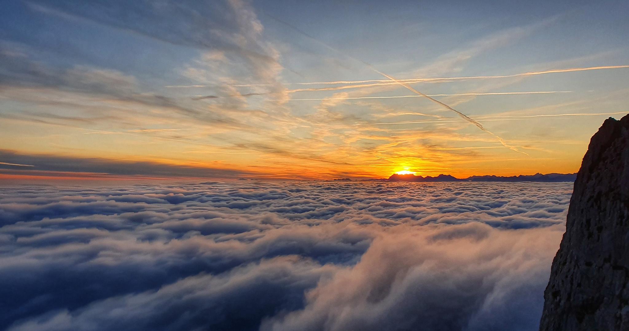 Faszination Berge -  Sonnenaufgang