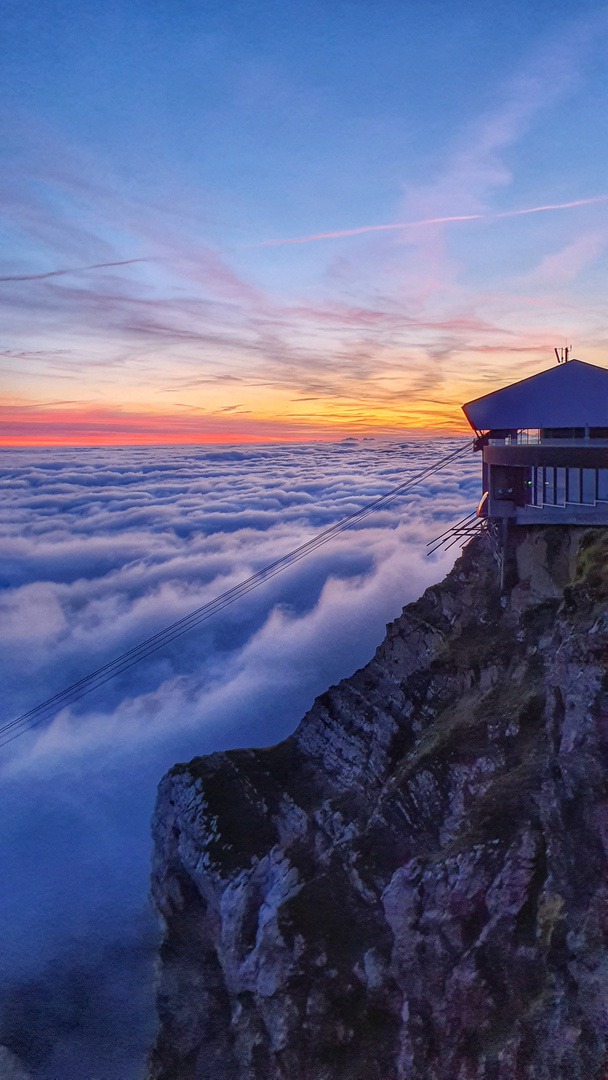 Faszination Berge -über den Wolken