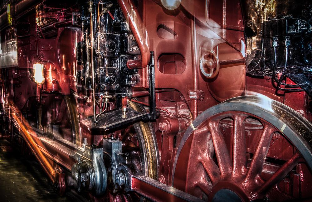 Faszination Dampflokomotive