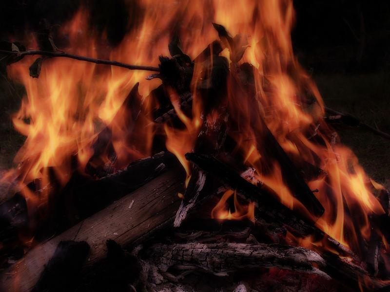 Faszination der Flammen