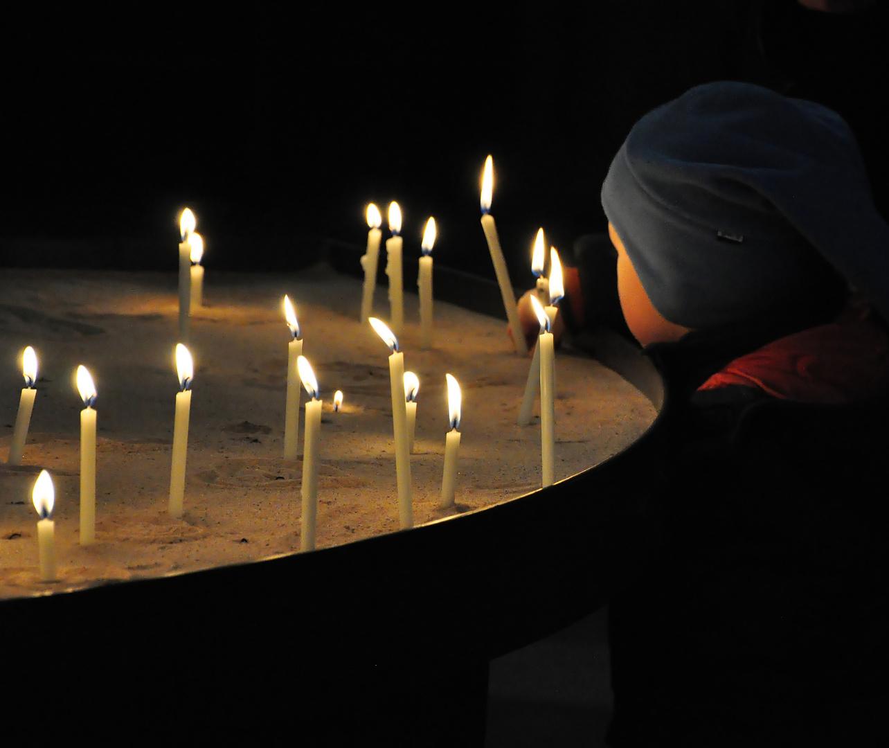 Faszination (Kerzen-)Licht