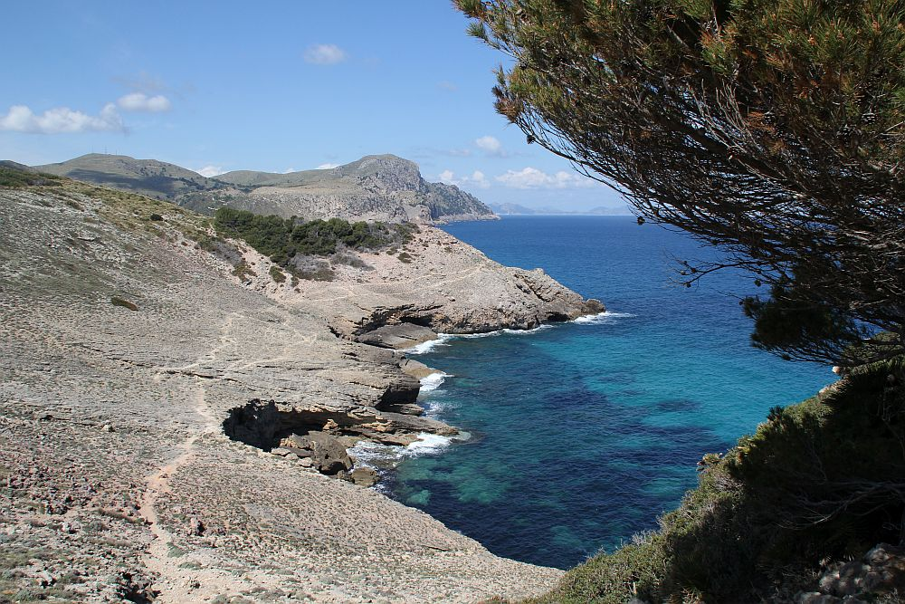 Faszinierende Küstenlandschaft im Parc Naturel de Levante...