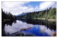 Faszinierender Ausblick: Lake Matheson