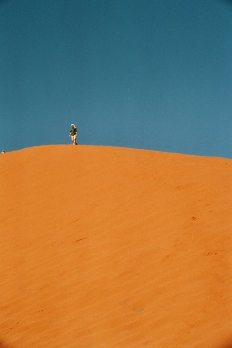 Fata Morgana im Wadi Rum
