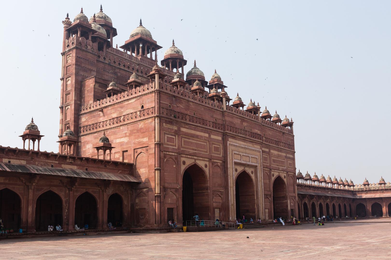 Fatehpur Sikri: Buland Dawarza, das südliche Eingangstor zur Freitagsmoschee
