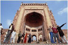 Fatehpur-Sikri: das große Tor