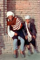 Father and son in Herat