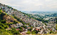Favela em Cosme Velho