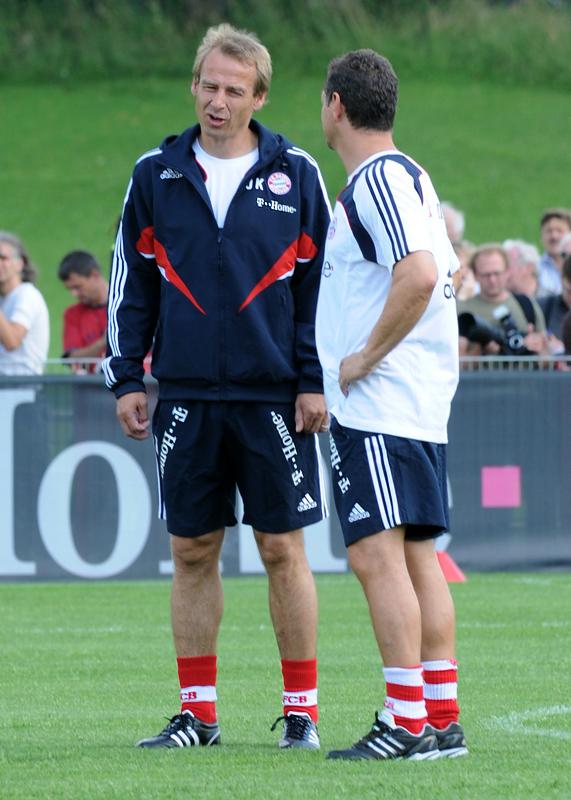 FC Bayern Trainingsauftakt mit Jürgen Klinsmann