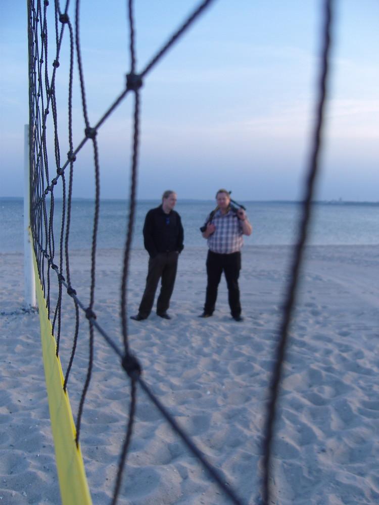fc-treffen am strand