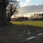 Februar-Landschaft
