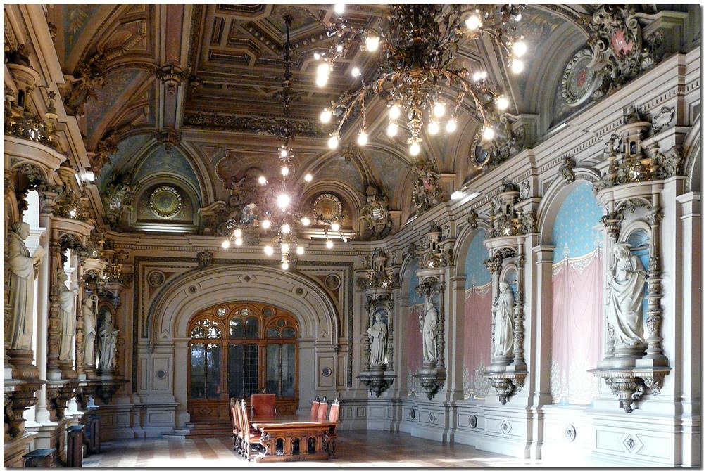 Fécamp - Palais Benedictine - Saal
