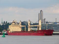 Federal Asahi - Schüttgutfrachter in HH