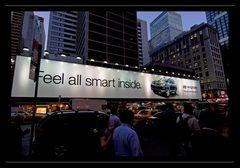 Feel all smart inside ... / Times Square - NY - III
