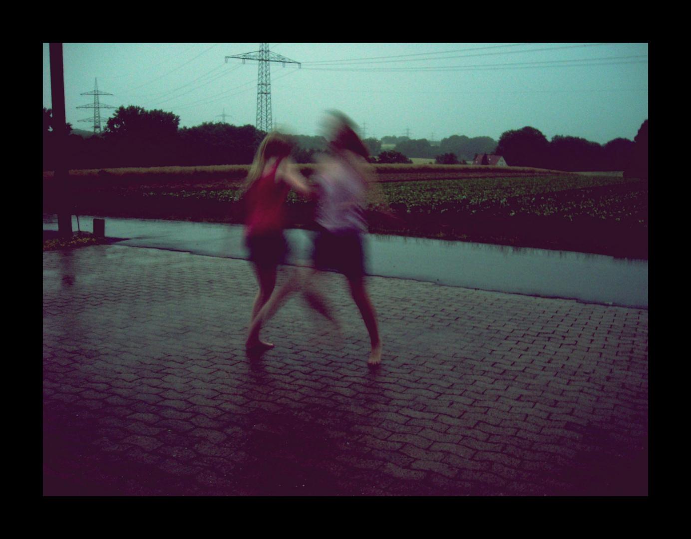 feel the raindrops
