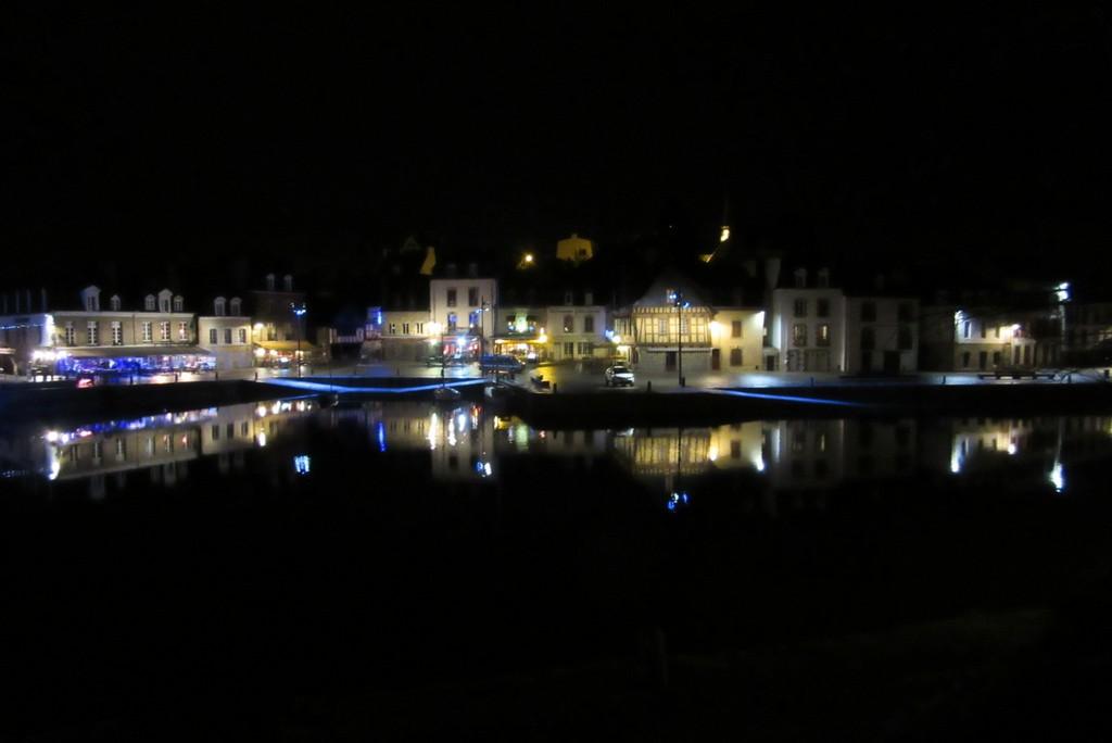 Féérie dans le petit port de St Goustan