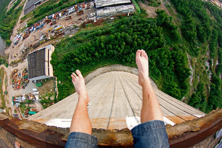 Feet Dangling