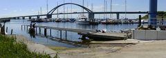 """Fehmarn - Marina mit Brücke"""