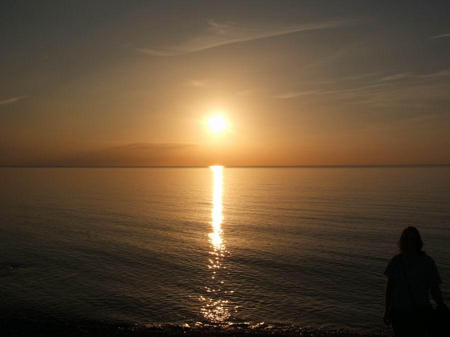 Fehmarn Ostsee - Ein schöner Tag neigt sich dem Ende zu