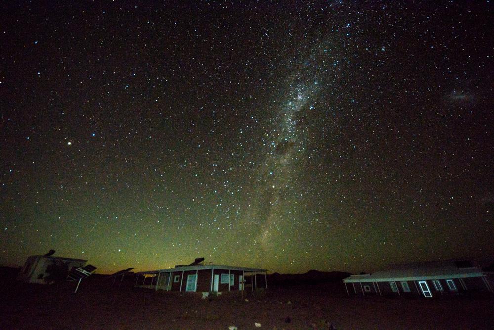 Feierabend in der Namib