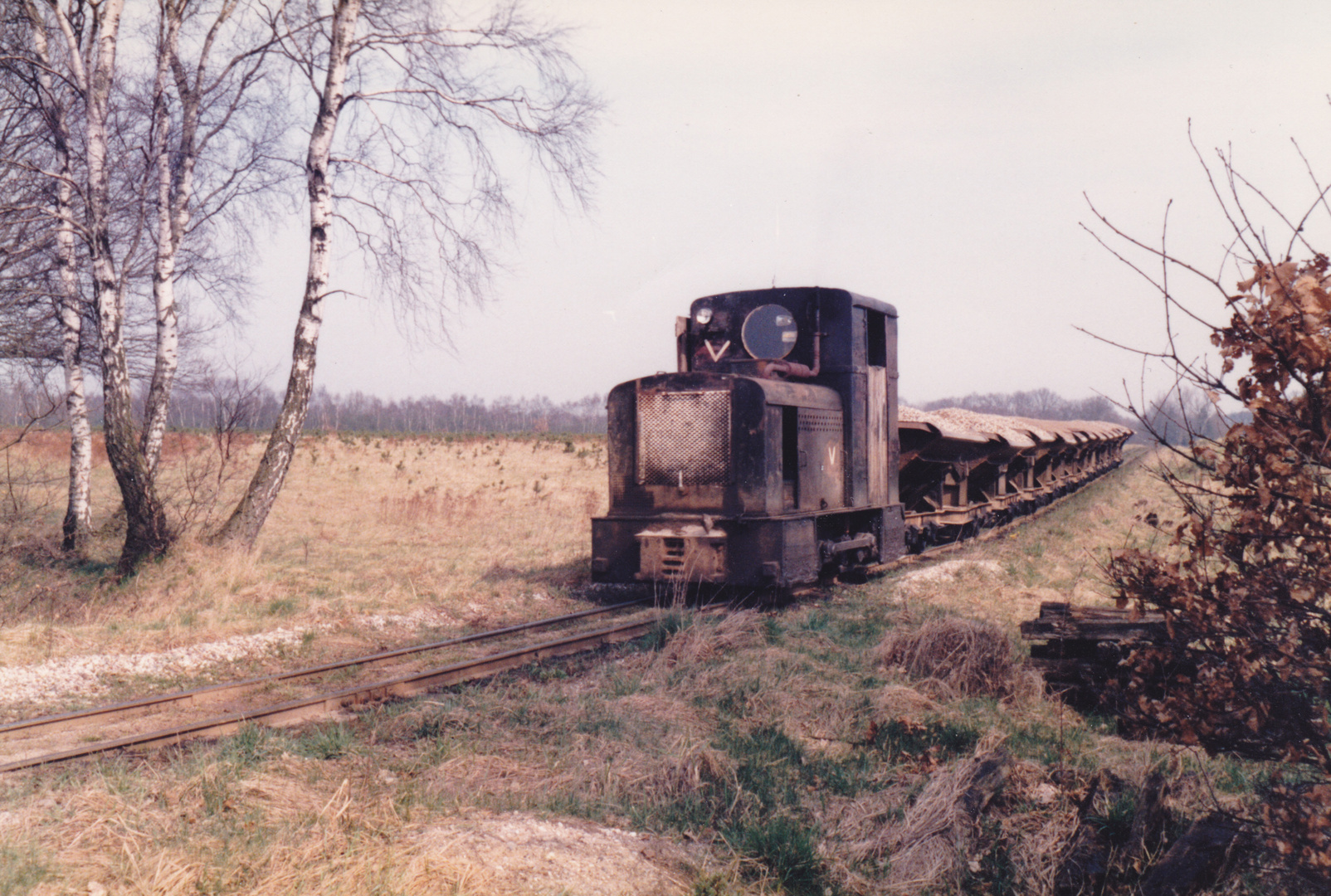 Feldbahn Segrahner Berg - Göttin
