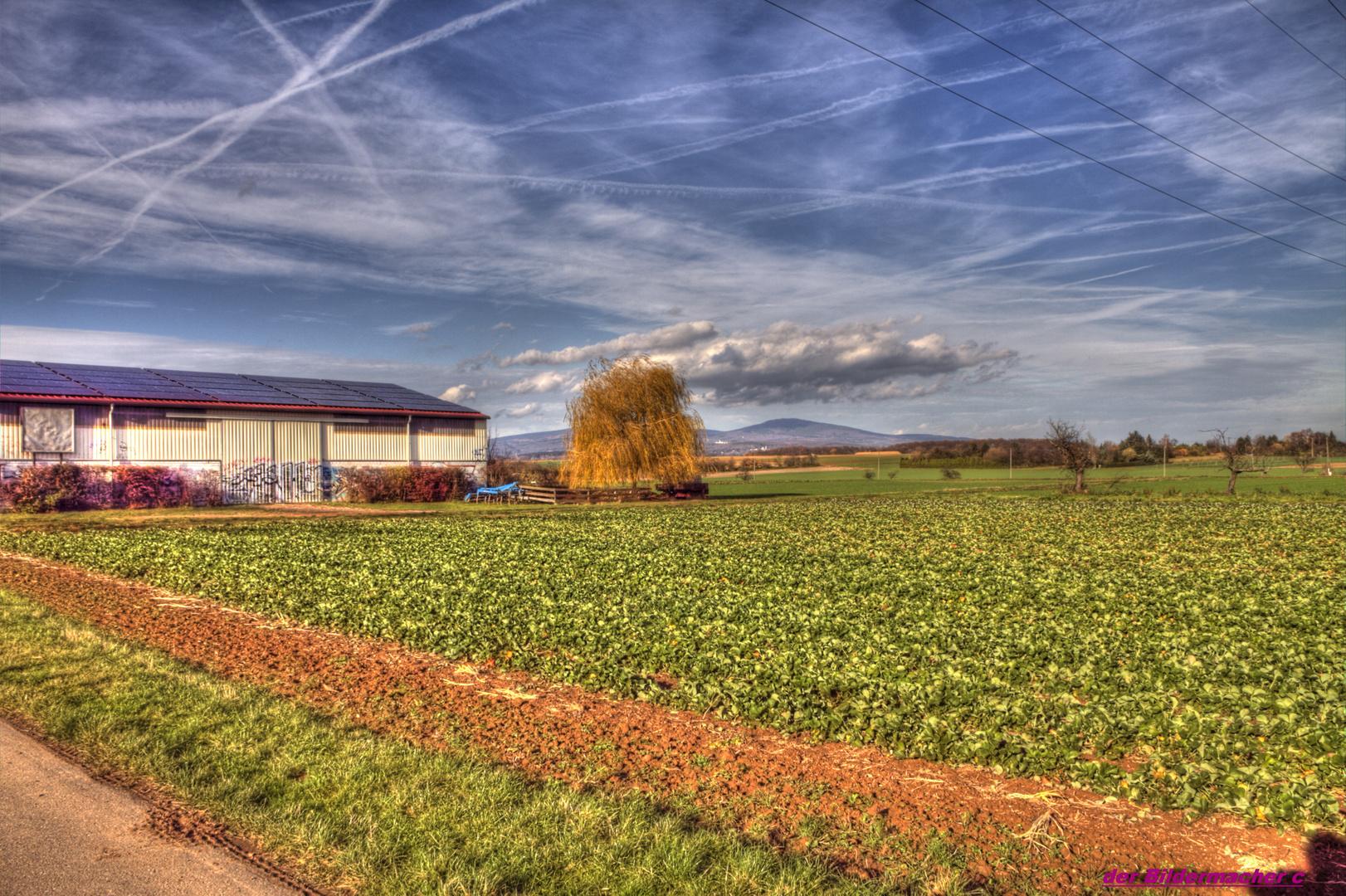 Felder im Herbst HDR (Test)
