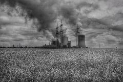 Felder und Industrie