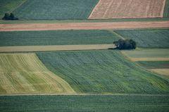Felder von oben....