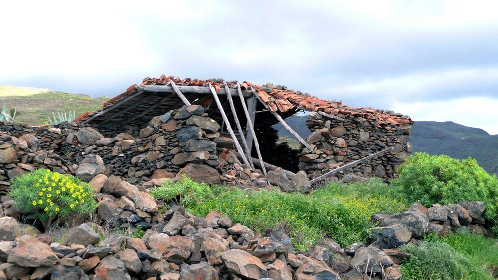 Feldhütte oberhalb von La Dama