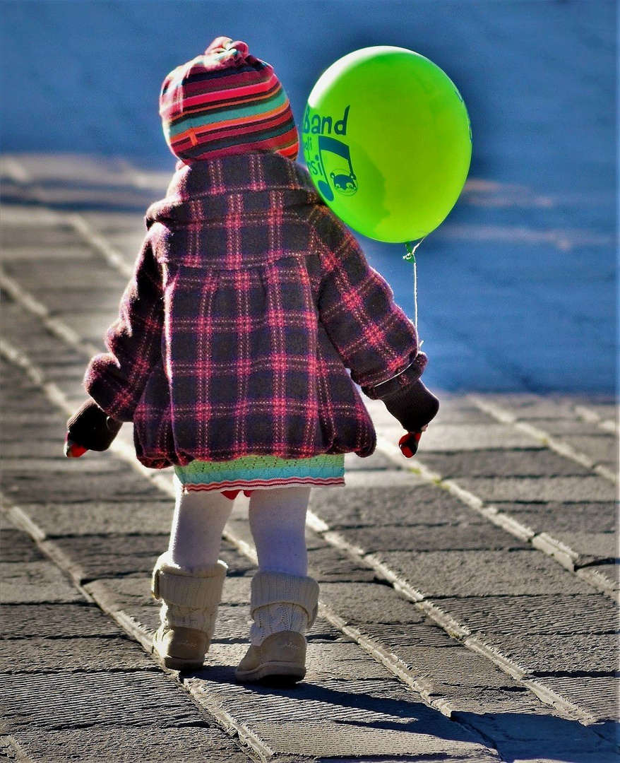 Felicità è un palloncino verde