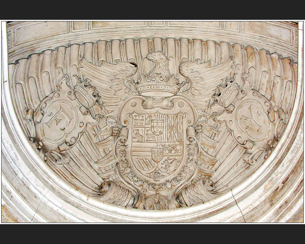 Felipe II. im Palast der Nasriden