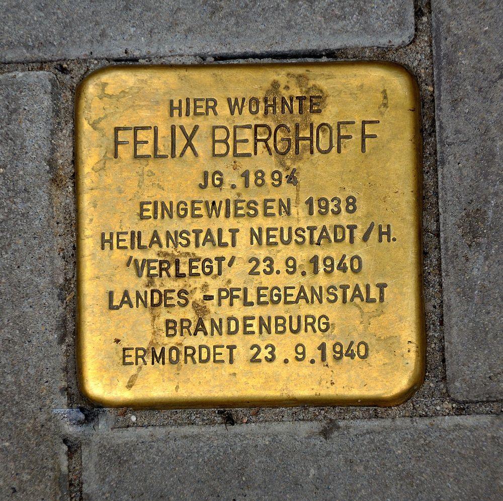Felix Berghoff galt als psychisch krank und labil.