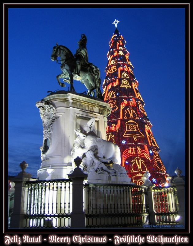 Feliz Natal - Merry Christmas - Fröhliche Weihnachten